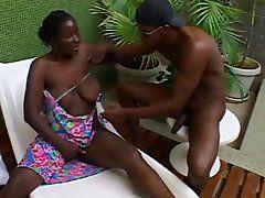 Ebony Omas wollen große Negerschwänze
